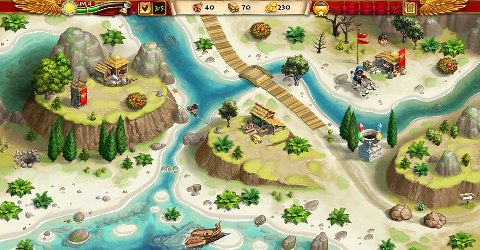 Screenshot № 3. Download Roads of Rome: New Generation 3 Collector`s Edition and more games from Realore website