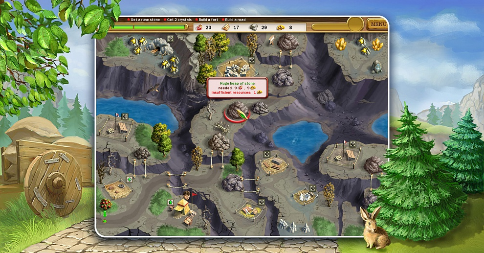 Screenshot № 5. Download Roads of Rome and more games from Realore website