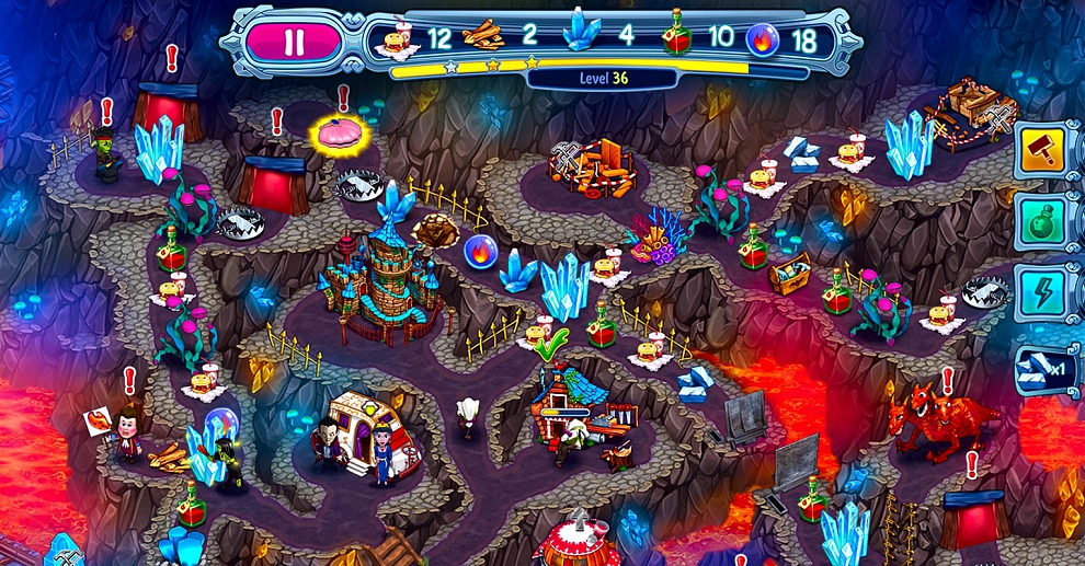 Screenshot № 3. Download Incredible Dracula 8: Ocean's Call and more games from Realore website