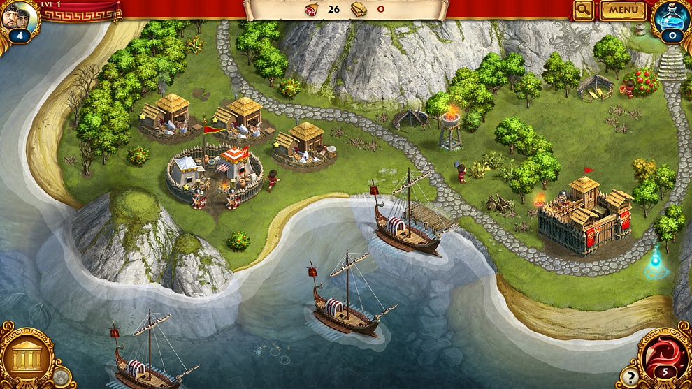 Screenshot № 2. Download Roman Adventures: Britons. Season 1 and more games from Realore website