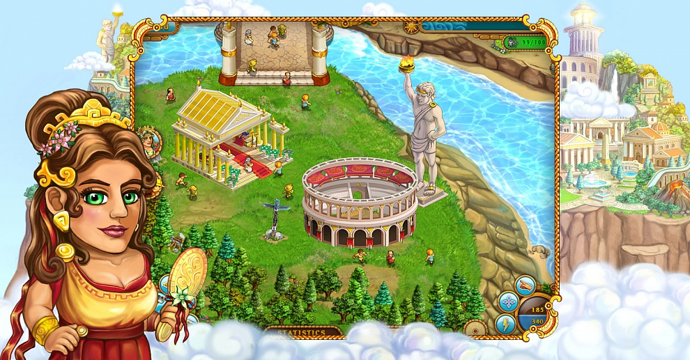 Screenshot № 4. Download All my Gods and more games from Realore website