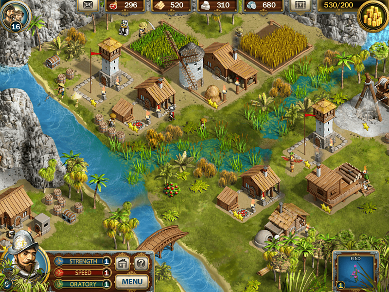 Screenshot № 6. Download Adelantado Trilogy. Book One and more games from Realore website