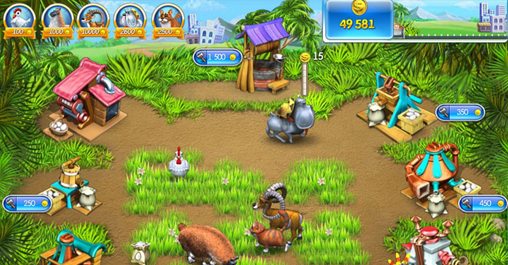 Screenshot № 3. Download Farm Frenzy 3 and more games from Realore website