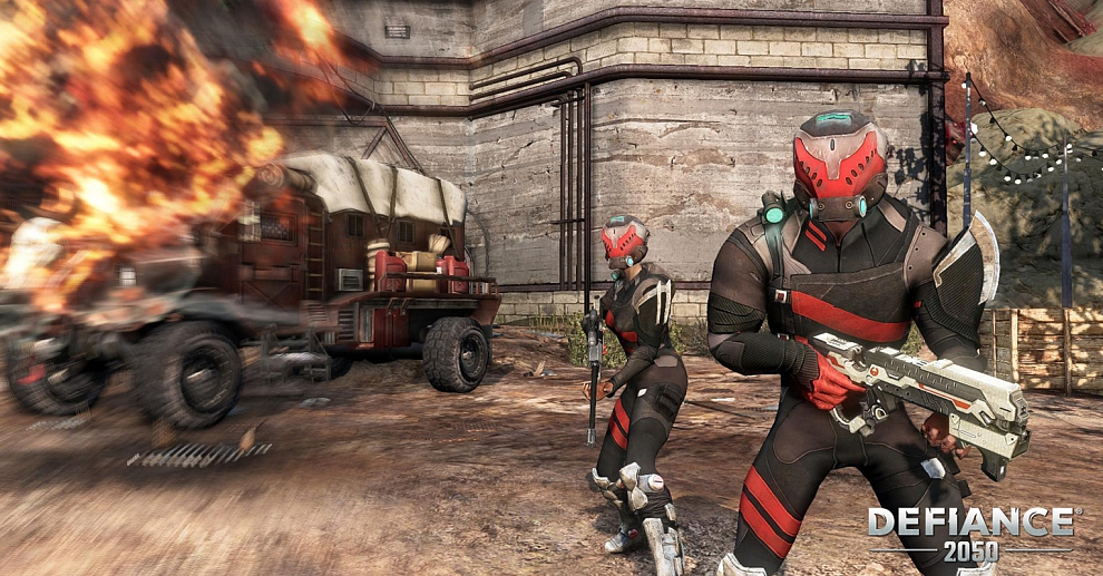 Screenshot № 1. Download Defiance 2050 and more games from Realore website