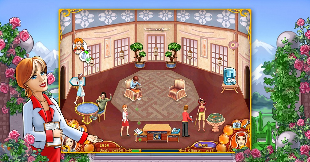 Screenshot № 6. Download Jane's Hotel 2: Family Hero and more games from Realore website