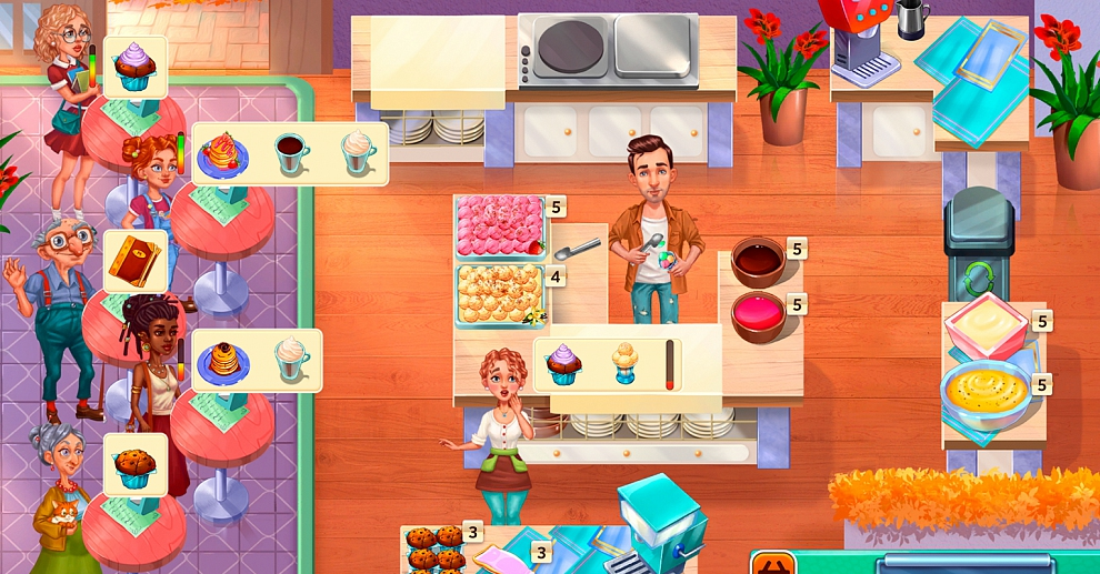 Screenshot № 3. Download Baking Bustle. Collector's Edition and more games from Realore website