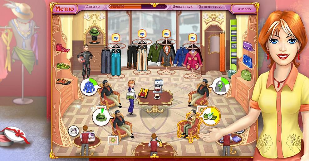 Играть в Мода Мания. Картинки, скриншоты и фотографии игры ... 74b6c1be050