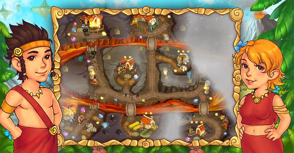 Screenshot № 7. Download Island Tribe 5 and more games from Realore website