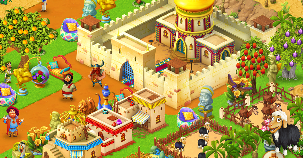 Screenshot № 5. Download Farm Mania: Silk Road and more games from Realore website