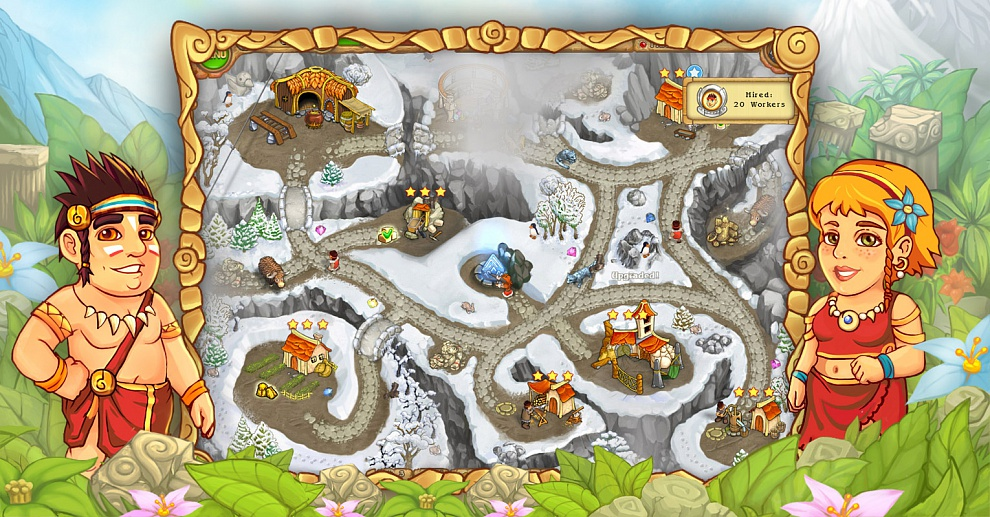 Screenshot № 6. Download Island Tribe 3 and more games from Realore website
