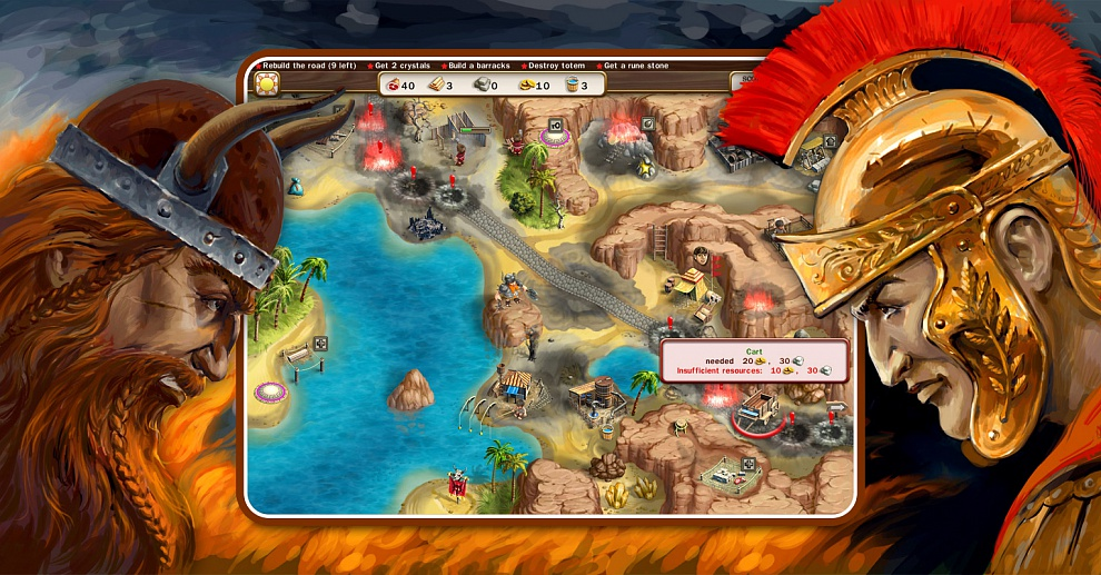 Screenshot № 5. Download Roads of Rome 3 and more games from Realore website