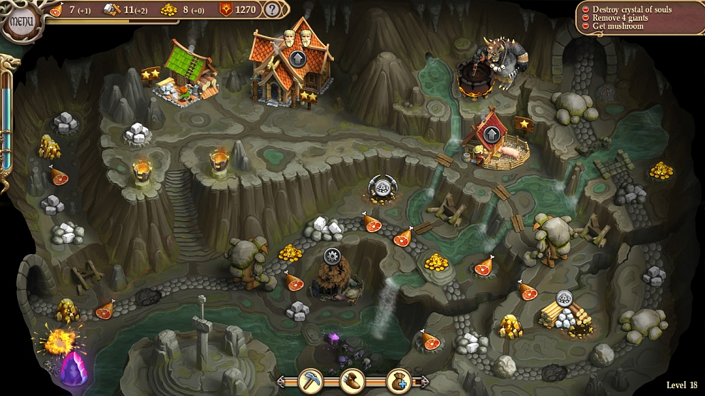 Screenshot № 3. Download Northern Tale 5: Revival and more games from Realore website