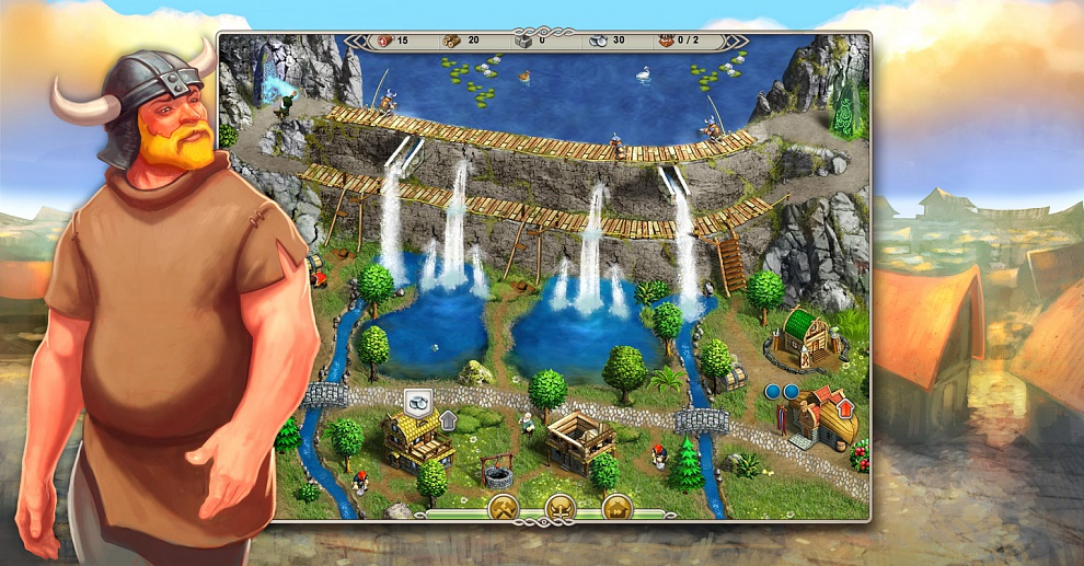 Screenshot № 5. Download Viking Saga 1: The Cursed Ring and more games from Realore website