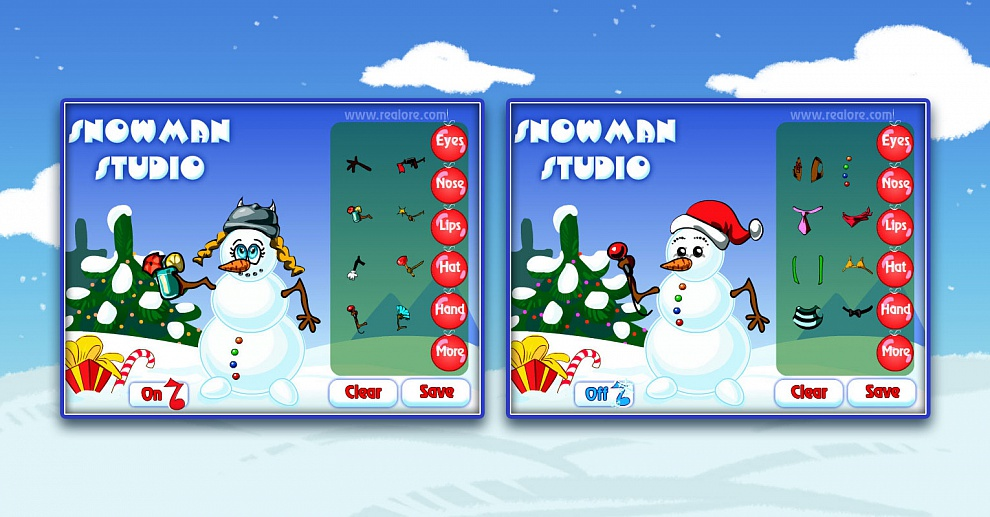 Screenshot № 2. Download Snowman Studio and more games from Realore website