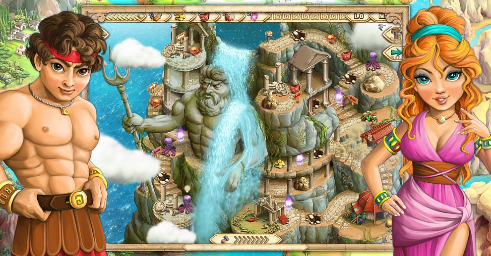 Screenshot № 5. Download Demigods and more games from Realore website