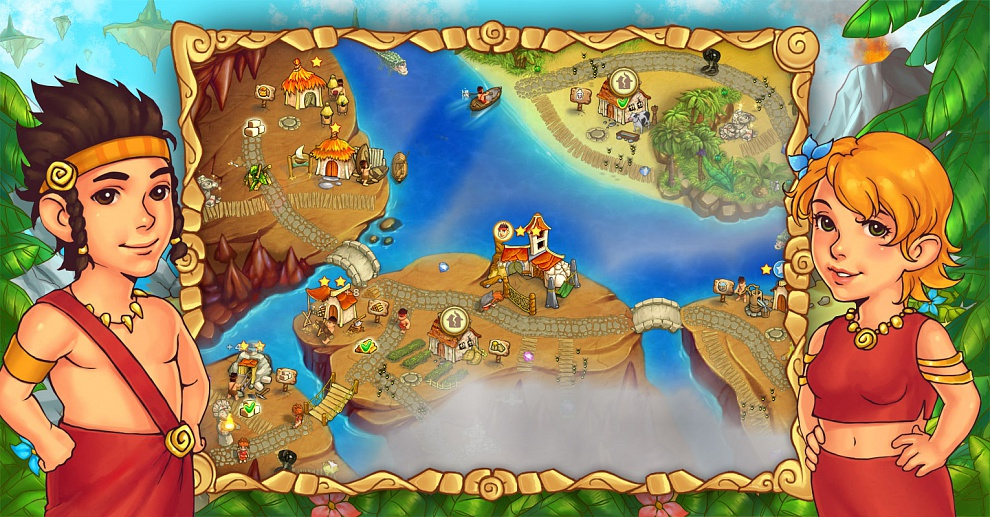 Screenshot № 4. Download Island Tribe 5 and more games from Realore website
