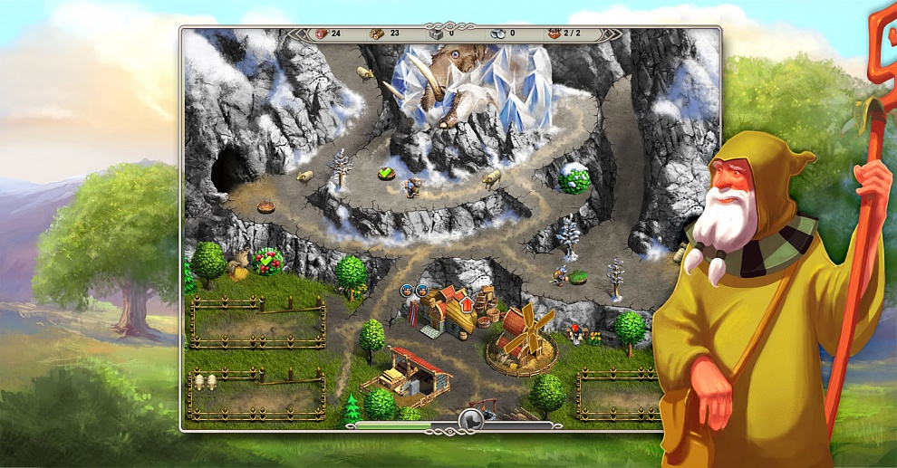 Screenshot № 6. Download Viking Saga 1: The Cursed Ring and more games from Realore website
