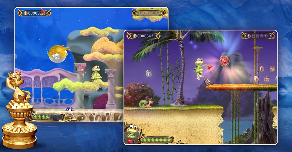 Screenshot № 3. Download Turtle Odyssey 2 and more games from Realore website