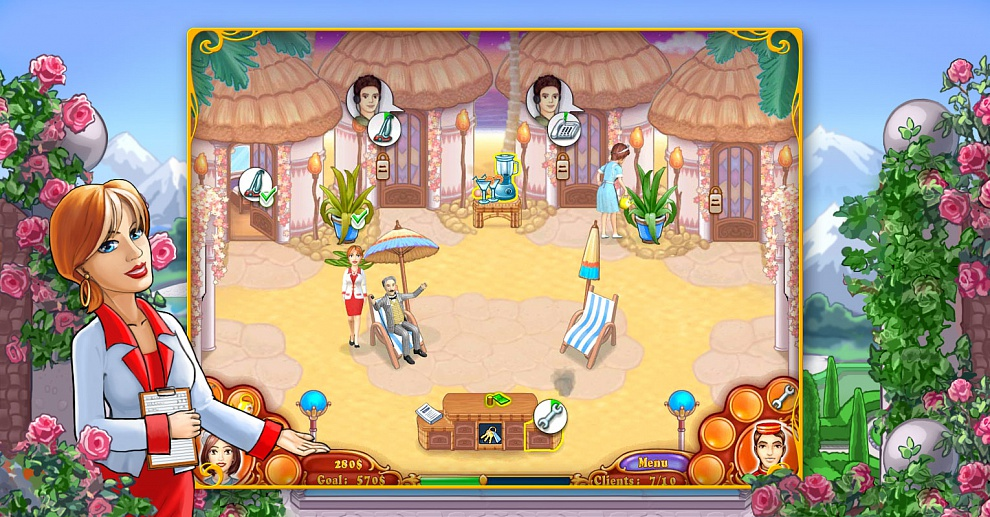 Screenshot № 3. Download Jane's Hotel 2: Family Hero and more games from Realore website