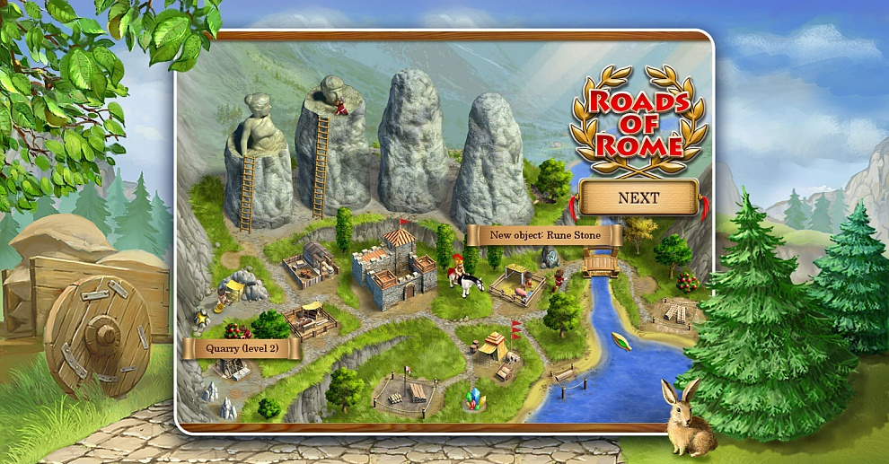 Screenshot № 2. Download Roads of Rome and more games from Realore website