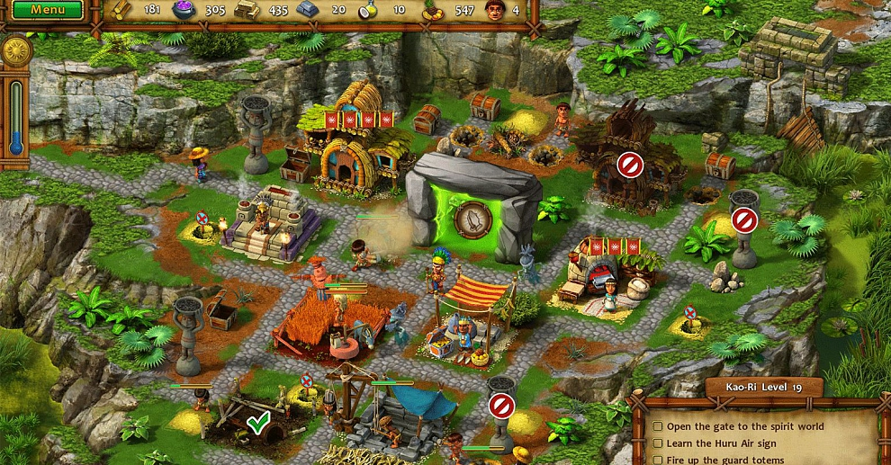 Screenshot № 3. Download Moai V: New Generation Collector's Edition and more games from Realore website