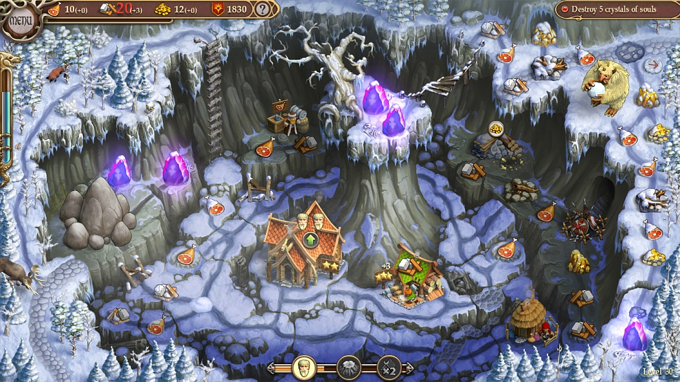 Screenshot № 4. Download Northern Tale 5: Revival and more games from Realore website