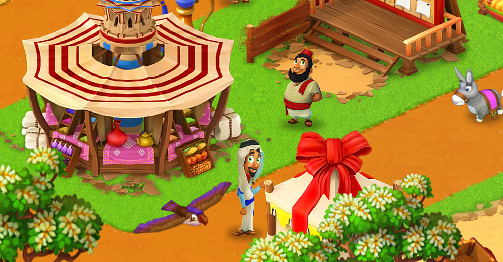 Screenshot № 4. Download Farm Mania: Silk Road and more games from Realore website