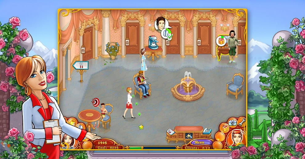 Screenshot № 4. Download Jane's Hotel 2: Family Hero and more games from Realore website
