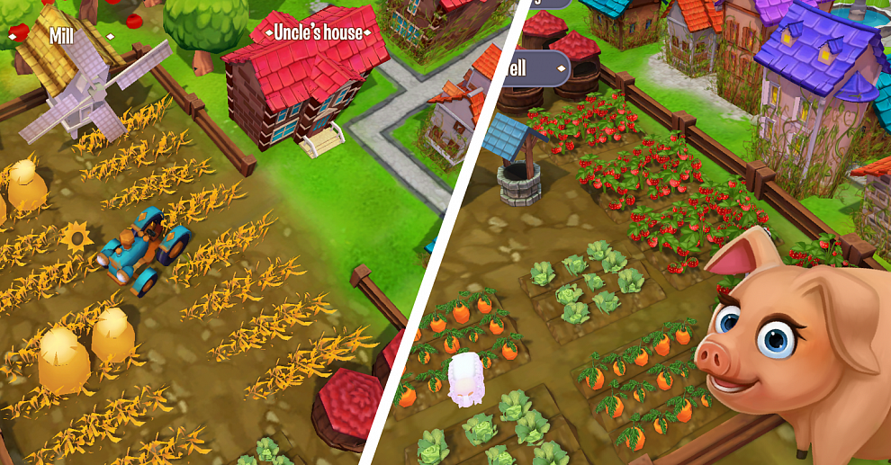Screenshot № 2. Download Jane's  Village and more games from Realore website