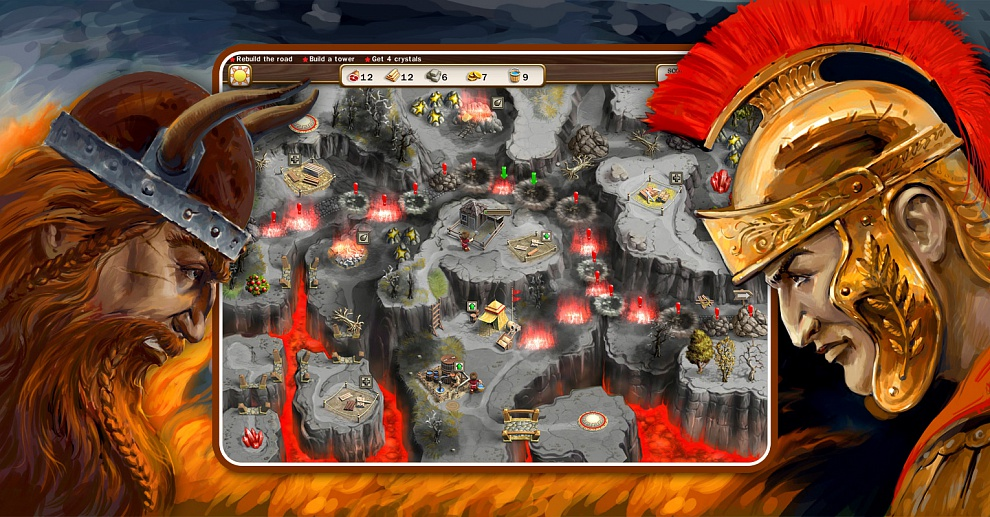 Screenshot № 6. Download Roads of Rome 3 and more games from Realore website