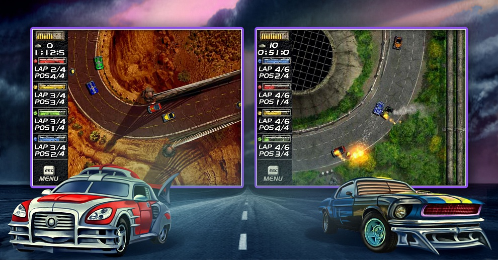 Screenshot № 3. Download Mad Cars and more games from Realore website