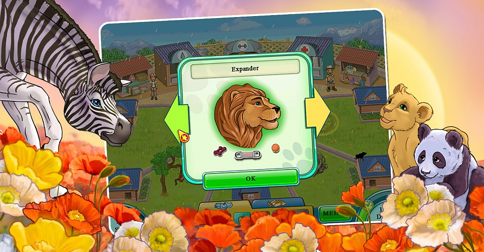 Screenshot № 3. Download Jane's Zoo and more games from Realore website