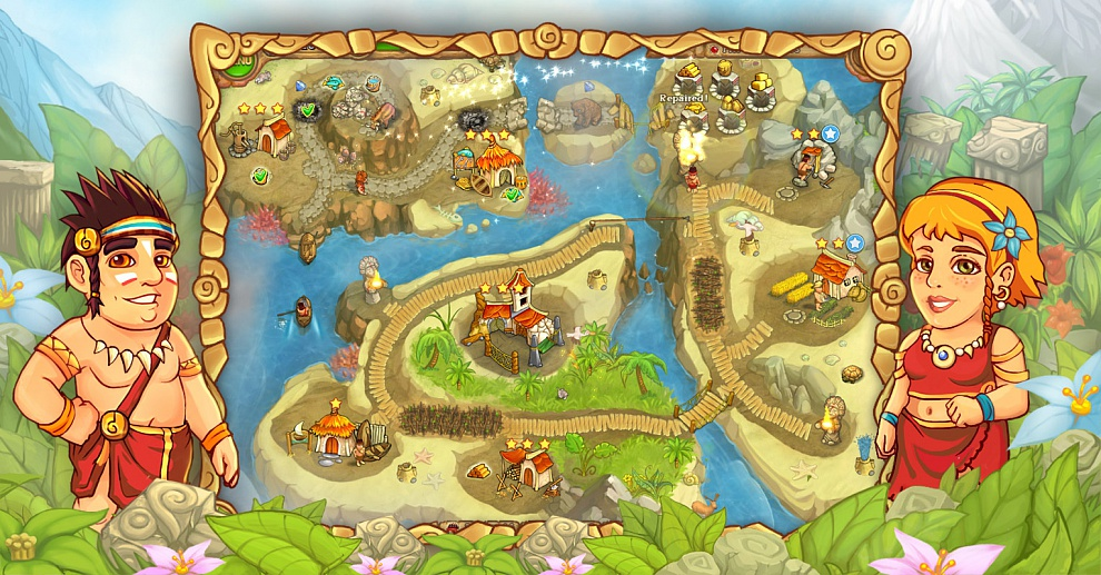 Screenshot № 4. Download Island Tribe 3 and more games from Realore website