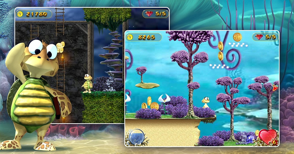 Screenshot № 2. Download Turtle Odyssey and more games from Realore website