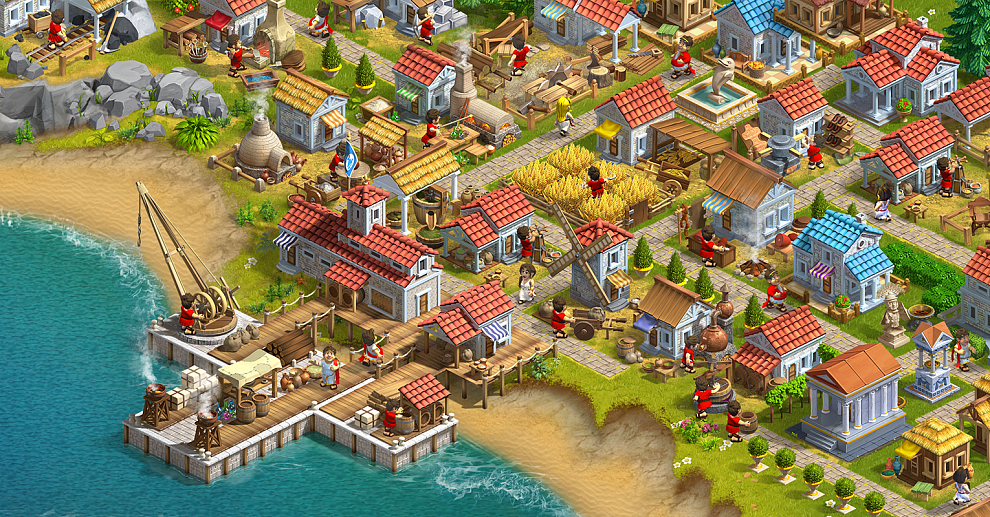 Screenshot № 3. Download Rise of the Roman Empire and more games from Realore website