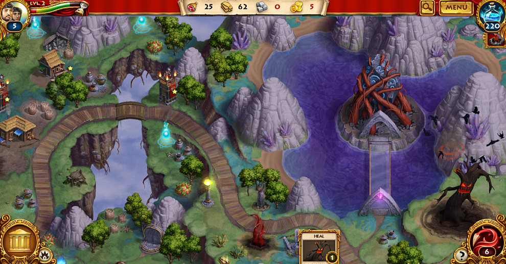 Screenshot № 3. Download Roman Adventures: Britons. Season 2 (Skrill) and more games from Realore website