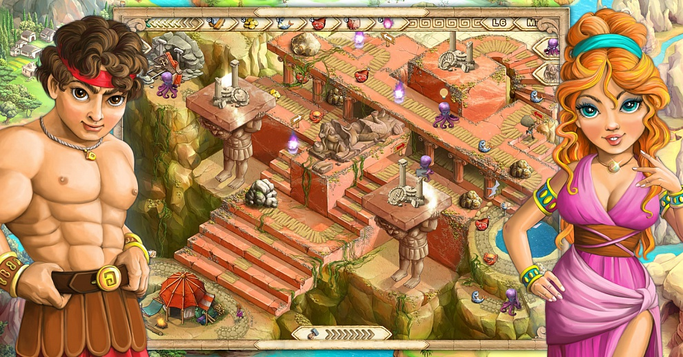 Screenshot № 4. Download Demigods and more games from Realore website