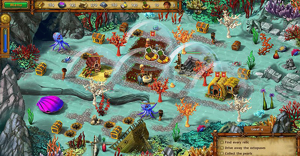 Screenshot № 1. Download Moai IV: Terra Incognita Collector's Edition and more games from Realore website