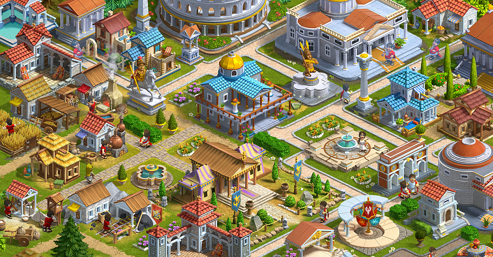 Screenshot № 1. Download Rise of the Roman Empire and more games from Realore website