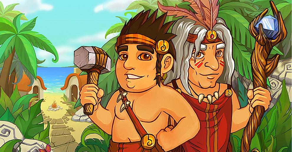 Screenshot № 1. Download Island Tribe and more games from Realore website