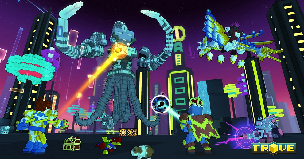 Screenshot № 4. Download Trove and more games from Realore website