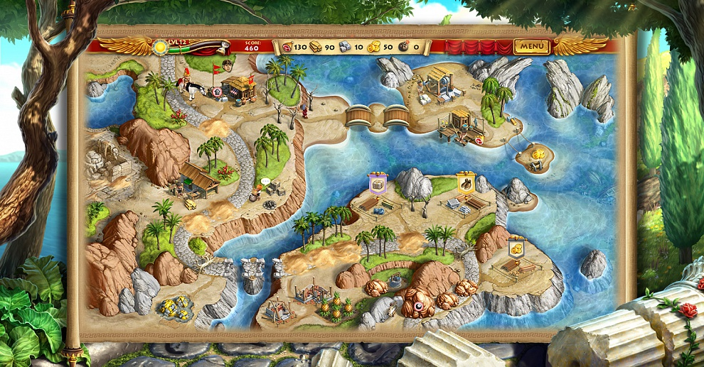 Screenshot № 3. Download Roads of Rome: New Generation and more games from Realore website