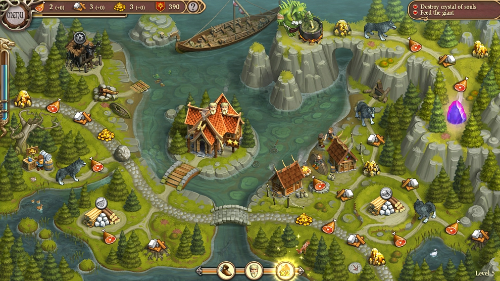 Screenshot № 1. Download Northern Tale 5: Revival and more games from Realore website
