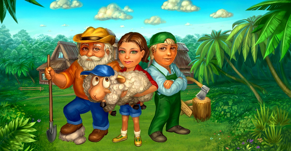 Screenshot № 1. Download Farm Mania 2 and more games from Realore website