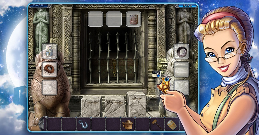 Screenshot № 5. Download 3 Days: Amulet Secret and more games from Realore website