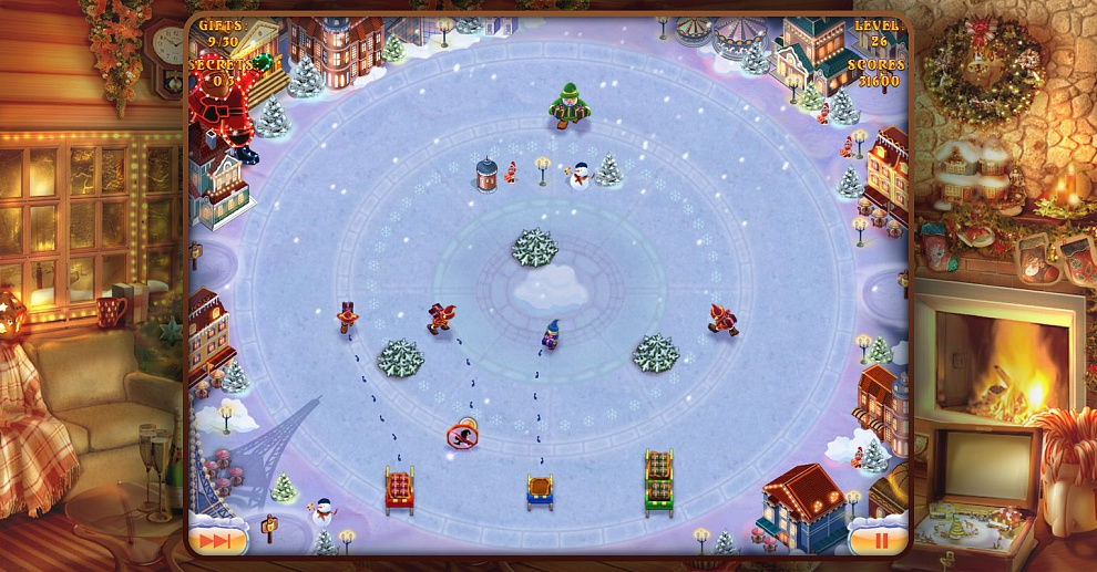 Screenshot № 7. Download Elves Inc.Christmas Mission and more games from Realore website