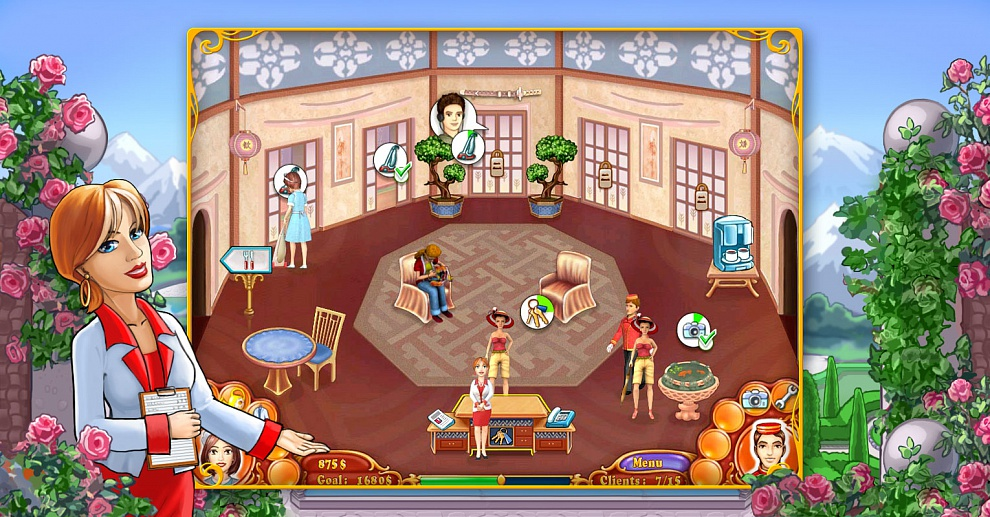 Screenshot № 2. Download Jane's Hotel 2: Family Hero and more games from Realore website