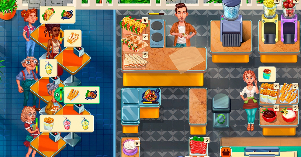 Screenshot № 4. Download Baking Bustle. Collector's Edition and more games from Realore website