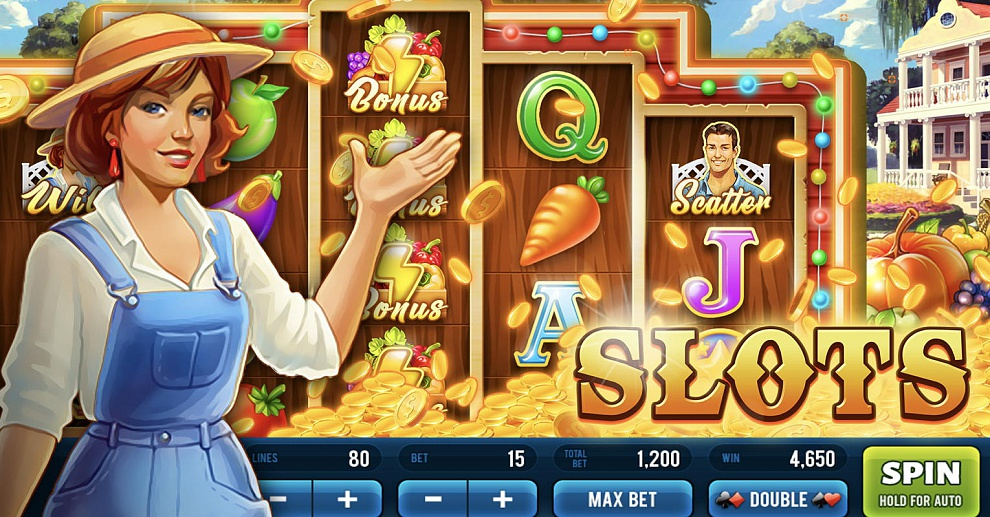 Screenshot № 1. Download Jane's Casino: Slots and more games from Realore website