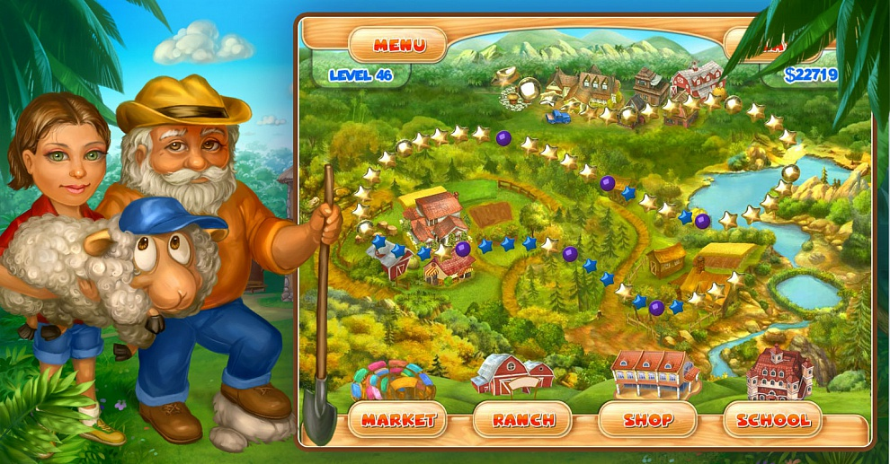 Screenshot № 6. Download Farm Mania 2 and more games from Realore website